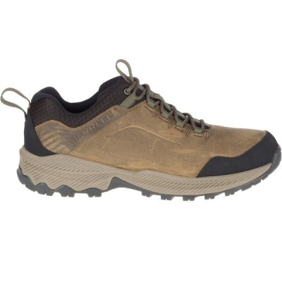 メレル スニーカー シューズ メンズ Merrell Men's Forestbound Low Hiking Shoes Brown