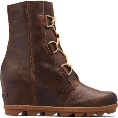 ソレル Sorel レディース ブーツ ウェッジソール シューズ・靴 joan of arctic wedge ii boots Burro