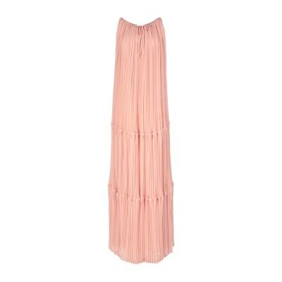 パロッシュ P.A.R.O.S.H. ロングワンピース&ドレス ローズピンク XS ポリエステル 100% ロングワンピース&ドレス