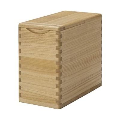 桐子モダン-【桐-米びつ】-米どころ新潟-加茂市の桐箪笥職人の技が息づく-桐の米びつ-10kg