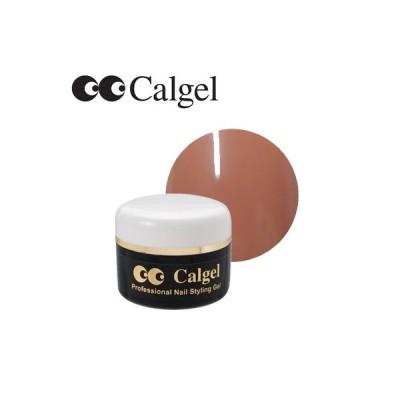 ジェルネイル カラージェル カルジェル CGBB08S カラージェル 4g アーモンドブラウン