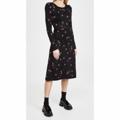ナヤ レア Naya Rea レディース ワンピース ワンピース・ドレス Amanda Jacquard Knitted Dress Black Floral