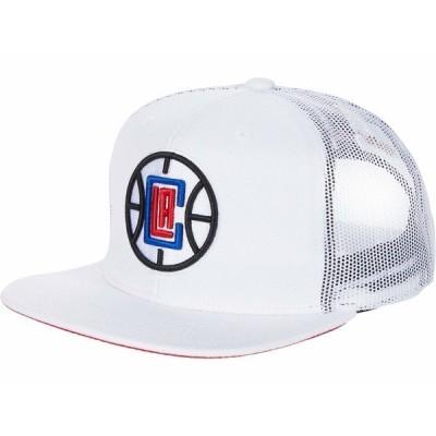 ミッチェル&ネス 帽子 アクセサリー メンズ NBA Cool Down Trucker Snapback NBA Clippers White