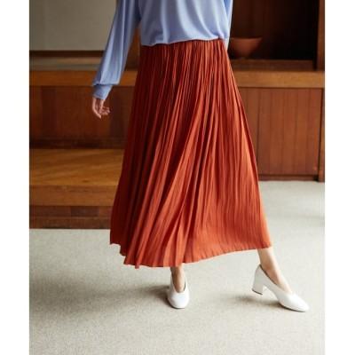 【マリン フランセーズ/LA MARINE FRANCAISE】 Satinプリーツスカート