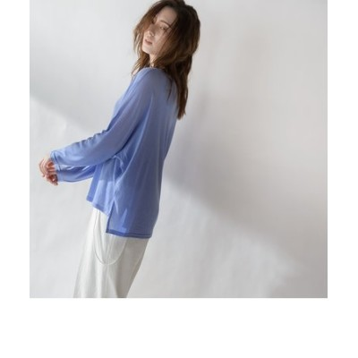 【socolla】タンク付シアードルマンTシャツ