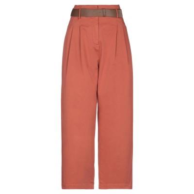 ファビアナフィリッピ FABIANA FILIPPI パンツ 赤茶色 40 コットン 97% / ポリウレタン 3% パンツ
