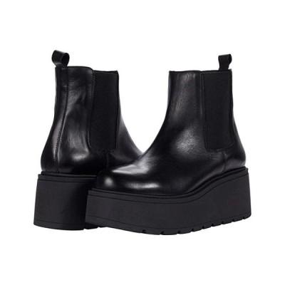スティーブマッデン Tiber Bootie レディース ブーツ Black Leather