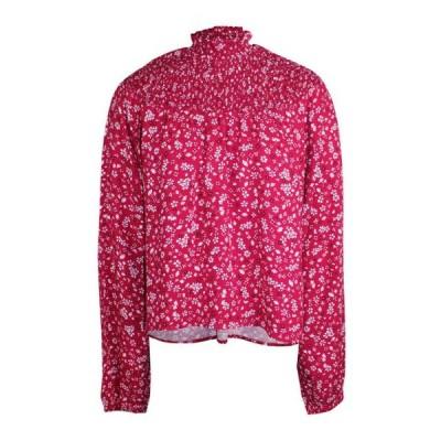 レディース 衣類 トップス Minkpink womens Floral Print Smocked Yoke Blouse ブラウス&シャツ
