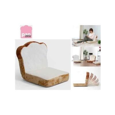 [送料無料・カード・前払限定]panzaisu パンシリーズ座椅子・食パン 【安心の日本製】*お子様にぴったりのやや小さめサイズ♪