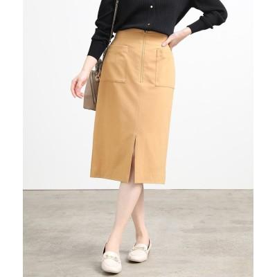 【ビス】 センタージップタイトスカート レディース キャメル L ViS