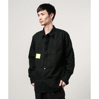 シャツ ブラウス 【MISHKA】 ビッグシルエット 長袖シャツ