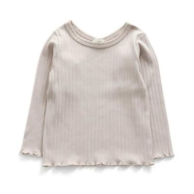 【30%OFF SALE】【2020初秋】Seraphセラフ リブ長袖Tシャツ[90・100cmのみメール便OK]