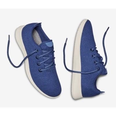 allbirds オールバーズ シューズ スニーカー Wool Runners ウールランナー ブルー Blueberry (Cream Sole) 限定カラー メンズ 天然素材 軽量 取り寄せ