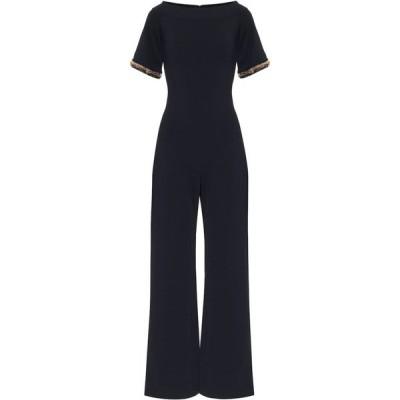 ステラ マッカートニー Stella McCartney レディース オールインワン ジャンプスーツ ワンピース・ドレス Embellished Knit Jumpsuit Ink