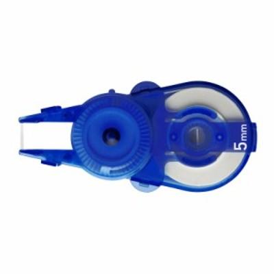 プラス(PLUS) 修正テープ ホワイパースライド 5mm ブルー 交換テープ 10個入 WH-115R-10P 49-562