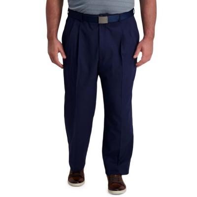 ハガー メンズ カジュアルパンツ ボトムス Big & Tall Cool Right Performance Flex Classic Fit Pleated Pant