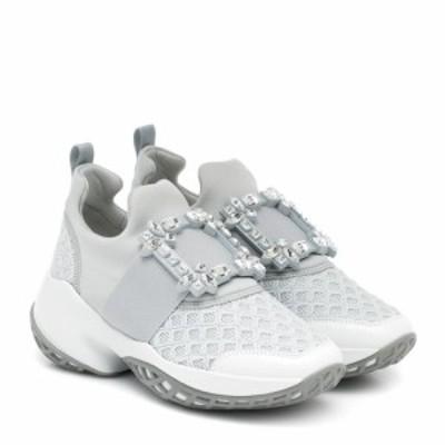 ロジェ ヴィヴィエ Roger Vivier レディース スニーカー シューズ・靴 Viv Run sneakers Bianco/Specchio