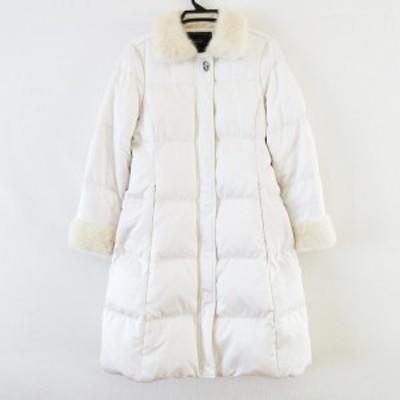 コーチ COACH コート サイズ6 M レディース - アイボリー 長袖/冬【中古】20210625