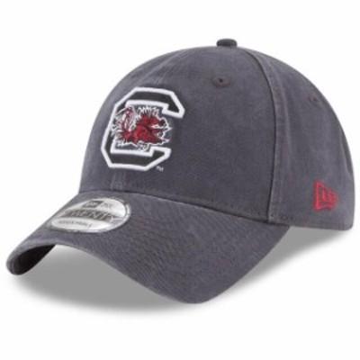 New Era ニュー エラ スポーツ用品  New Era South Carolina Gamecocks Gray Core Classic 9TWENTY Adjustable Hat