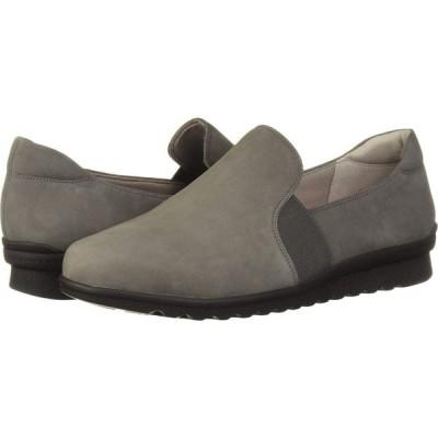 アラヴォン Aravon レディース ローファー・オックスフォード シューズ・靴 Josie Double Gore Slip Brown