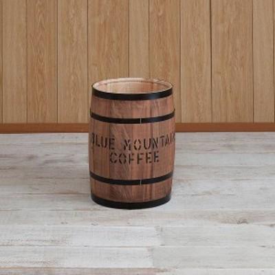 国産ヒノキ材 樽 中サイズ ブラウン(送料無料)(オブジェ、インテリア雑貨、玄関収納)
