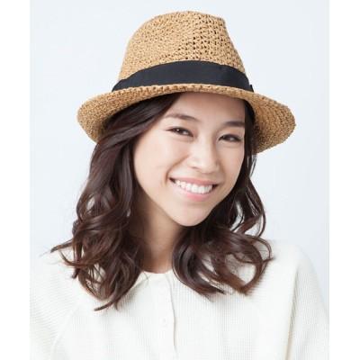 帽子屋ONSPOTZ / ガーブリッシュ ストローハット AKURI - DANIELA レディース GIRBLISH WOMEN 帽子 > ハット