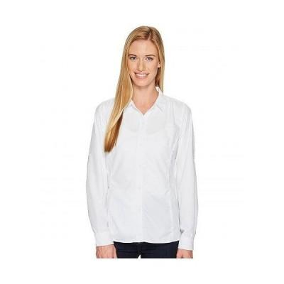 ExOfficio エクスオフィシオ レディース 女性用 ファッション ボタンシャツ BugsAway Viento Long Sleeve Shirt - White