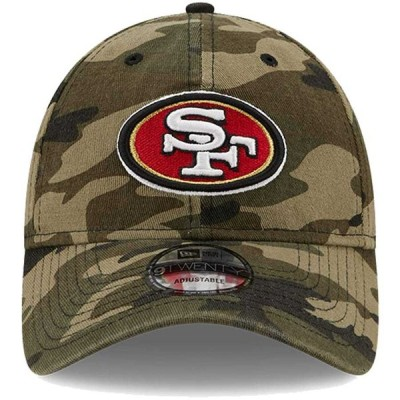 サンフランシスコ・49ers New Era Core Classic 9TWENTY Adjustable キャップ - Camo