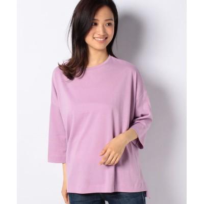 (koe/コエ)七分袖Tシャツ/レディース パープル