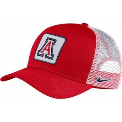 ナイキ メンズ 帽子 アクセサリー Nike Men's Arizona Wildcats Cardinal Classic99 Trucker Hat -