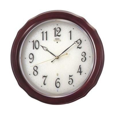 セイコー SEIKO エムブレム EMBLEM 掛け時計 壁掛け HS521B 電波時計 スイープ 静か 音がしない  【指定ロゴなしの文字入れは無料!】