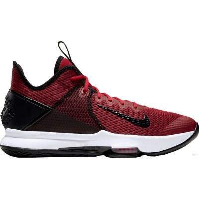 ナイキ Nike メンズ バスケットボール シューズ・靴 LeBron Witness 4 Basketball Shoes Gym Red/Black