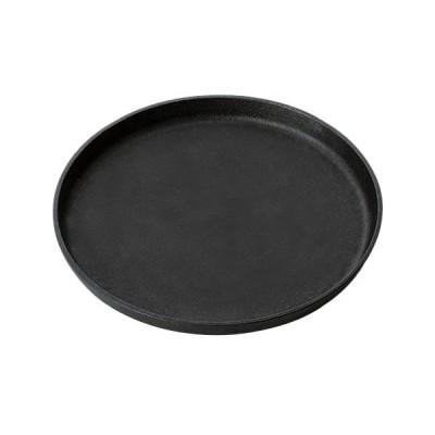 鉄板 鉄製 23cmラウンドプレート 直径:230/洋食器/業務用/新品