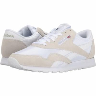 リーボック Reebok Lifestyle メンズ スニーカー シューズ・靴 Classic Nylon White/Light Grey