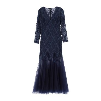 TADASHI SHOJI ロングワンピース&ドレス ダークブルー 6 ポリエステル 80% / ナイロン 20% ロングワンピース&ドレス