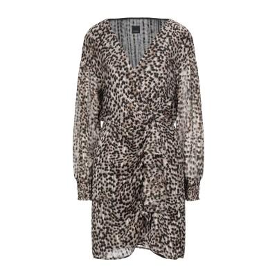 ピンコ PINKO ミニワンピース&ドレス ベージュ 38 ポリエステル 98% / 金属繊維 2% ミニワンピース&ドレス