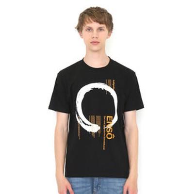 グラニフ Tシャツ メンズ レディース 半袖 エンソカリグラフィー