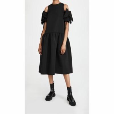 ヴィクトリア ベッカム Victoria Victoria Beckham レディース ワンピース ギャザー ワンピース・ドレス Gathered Detail Cold Shoulder