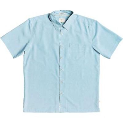 クイックシルバー メンズ シャツ トップス Quiksilver Men's Cane Island Shirt Stillwater Cane Island