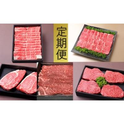 お肉の定期便【近江牛 牛づくしの会】【AB72SM】