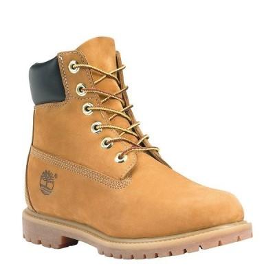 ティンバーランド レディース ブーツ&レインブーツ シューズ Women's Premium Waterproof Hiker Boots Wheat