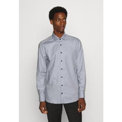 オリンプ メンズ ファッション Formal shirt - schwarz