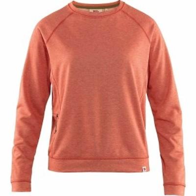 フェールラーベン Fjallraven レディース ニット・セーター トップス High Coast Lite Sweater Rowan Red