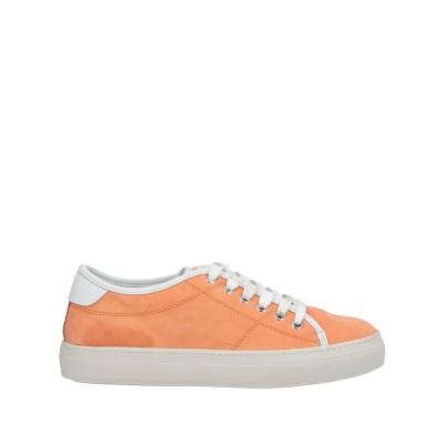 トッズ TOD'S スニーカー&テニスシューズ(ローカット) オレンジ 36 革 スニーカー&テニスシューズ(ローカット)