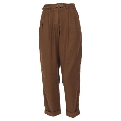 ウールリッチ WOOLRICH パンツ ブラウン 26 麻 60% / コットン 40% パンツ
