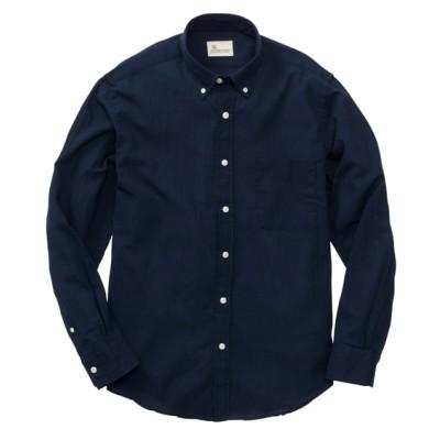 CANTERBURY WOOD(カンタベリーウッド) クレープ無地長袖シャツ カジュアルシャツ, Shirts,