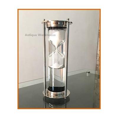 砂時計 Handmade Hourglass Maritime Vintage Sea Sand Timer Desktop Decorative Gift Items for Birthday, Christmas, Halloween, New Year Gift