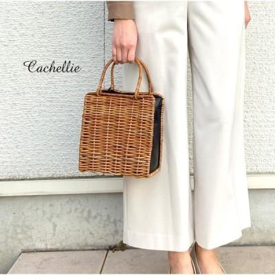 【2020春夏】Cachellie カシェリエ ARUROGU サイドレザートート 54-7415