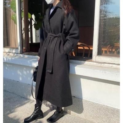 monodaily レディース コート Maybe single long coat