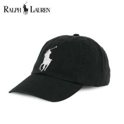 ラルフローレン Polo RALPH LAUREN ONE size クリックポストで送料無料 キャップ Cap ビックポニー ブラック メンズ 正規品